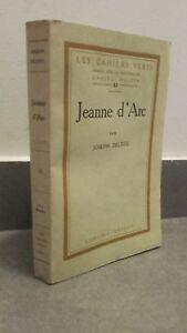 JEANNE-D-039-ARC-JOSEPH-DELTEIL-GRASSET-1925-PARIS-N-508-BROCHE-BE