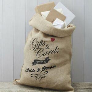 Hochzeitspost Post-Sack Hochzeit Geschenk Karten | Geschenketisch Rustikal Deko