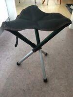 Jagtstol, Walkstool 55 cm, Foldestol i