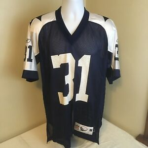 sale retailer dd4c7 0e72d Details about Reebok Throwback Football Jersey Medium NFL Classic Dallas  Cowboys 31 R Williams