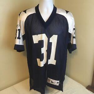 sale retailer 61dc7 6da38 Details about Reebok Throwback Football Jersey Medium NFL Classic Dallas  Cowboys 31 R Williams