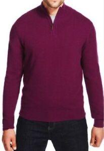 costava Luxuary Rich Men 55 con £ Wool Sz cashmere prugna color M Jumper s Medium 57wqwA