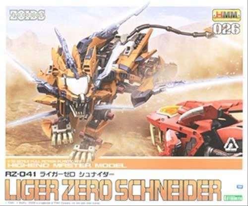 Kotobukiya Zoids Hmm 026 RZ-041 Liger Zero  Schneider 1 72 modellolo Plastica Kit  fabbrica diretta