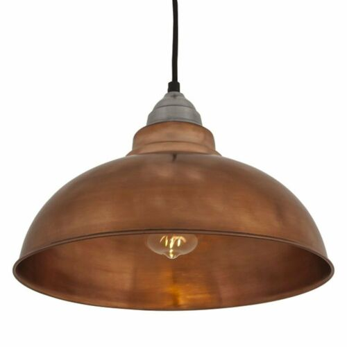 Vintage Style Pendant Light Copper 12 inch