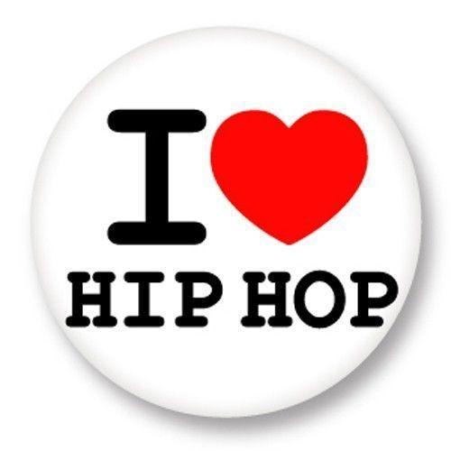 Magnet Aimant Frigo Ø38mm ♥ I Love You j/'aime Danse le Hip Hop