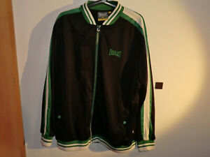 Details about EVERLAST TRACK JACKET OLD SCHOOL GREEN ADIDAS ORIGINALS BBOY NEW WITH TAGS