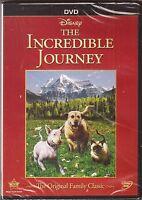 Disney The Incredible Journey Dvd Brand