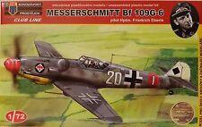 Bf 109G-6, 1:72 , Kovozavody Prostejov , Plastik , Modell des Jahres , *NEU*