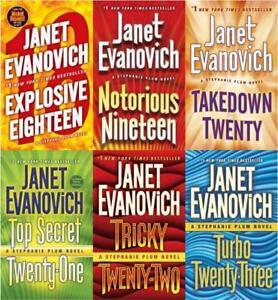 Image Is Loading Janet Evanovich STEPHANIE PLUM Bounty Hunter Series Paperback