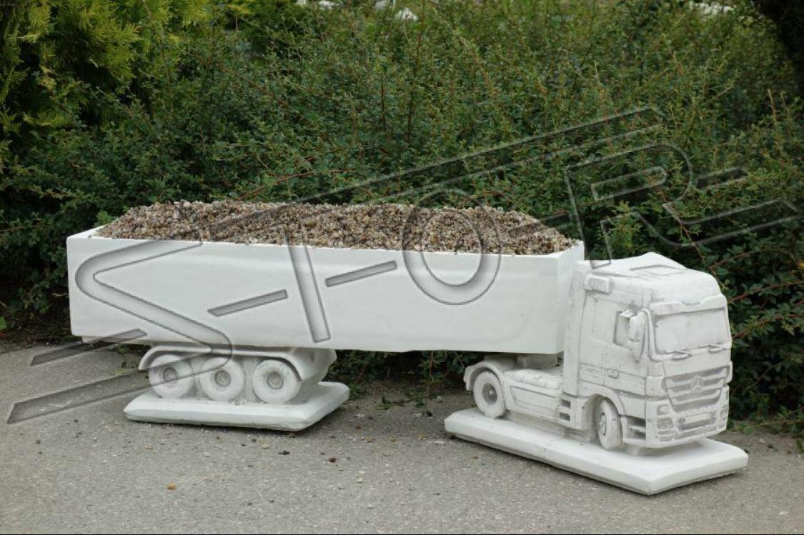Progettazione Statua Figura Camion Sculture da Giardino Nuovo S110025
