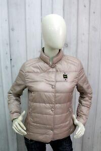BLAUER-Donna-Taglia-L-Giubbotto-Invernale-Piumino-Giubbino-Giacca-Jacket-Woman
