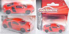 Majorette 212053051 Audi R8 4.2 FSI rot 5-Speichen-Felge ischw. 1:64 STREET CARS