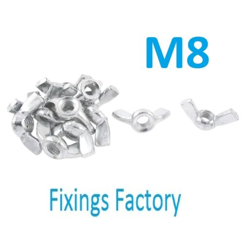 TOP QUALITY! Wing Nuts Cold formed metric threaded M4 M5 M6 M8 M10