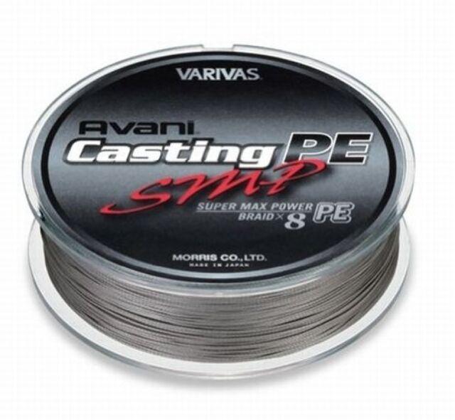 VARIVAS Avani Casting PE Braid SMP 400m 6 Line Fishing Japan for sale online