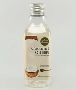 100ml Phutawan Pure Thai Cold Pressed Coconut Oil Massage Hair Skin Moisturising