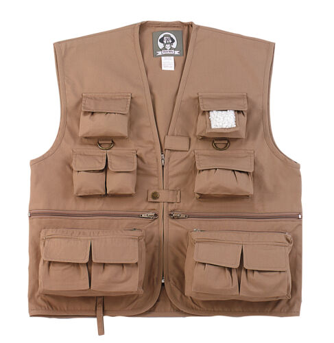 Child/'s Adventure Vest w//17 Pockets S-XL Kids Uncle Milty/'s Travel Vest