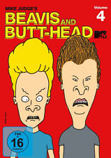 2 DVDs * BEAVIS AND BUTT-HEAD - THE MIKE JUDGE COLLECTION, VOLUME 4 # NEU OVP =