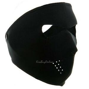 Reversible-Neoprene-Full-Face-Mask-Motorcycle-Skiing-Cycling-Bike-Winter-Warmer