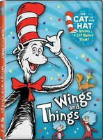 Cat In The Hat Knows A Lot About That Wings & Things [dvd]