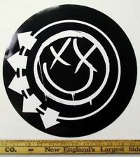 """BLINK 182 2003 BIG 12"""" round CD promo sticker!~MINT condition~NEW old stock~!"""