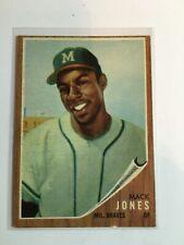 1962 Topps #186 Mack Jones  EXMINT   BB4