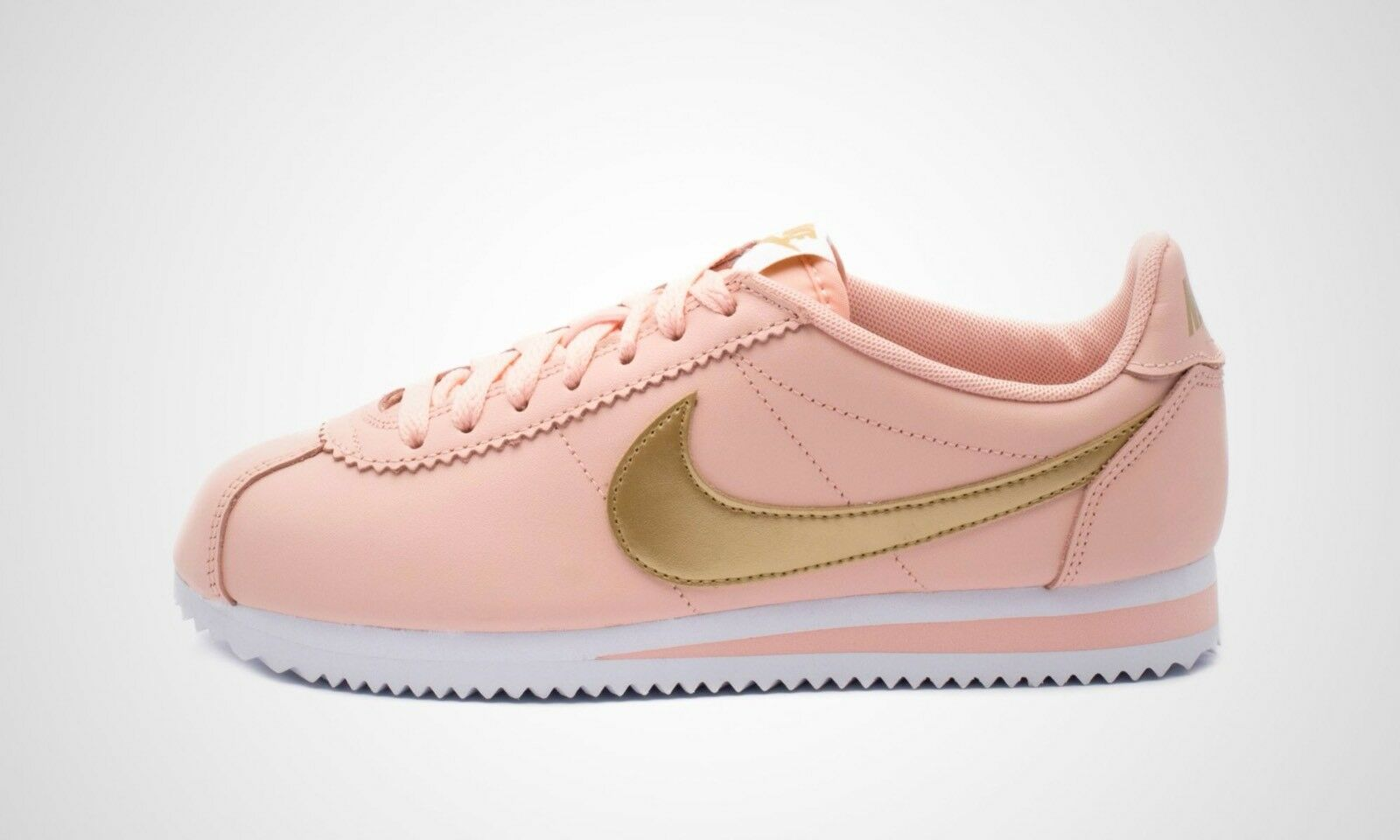 UK 5.5 Women's Nike Classic Cortez Leather Trainers EUR 39 US 8 807471-800