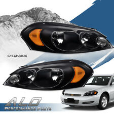 Fit For 06 13 Chevy Impala06 07 Monte Carlo Amber Corner Clear Lens Headlights Fits 2006 Impala