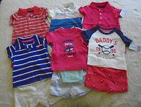 10 Pc. Lot Of Newborn Baby Boy Clothes 0-6 Months $128