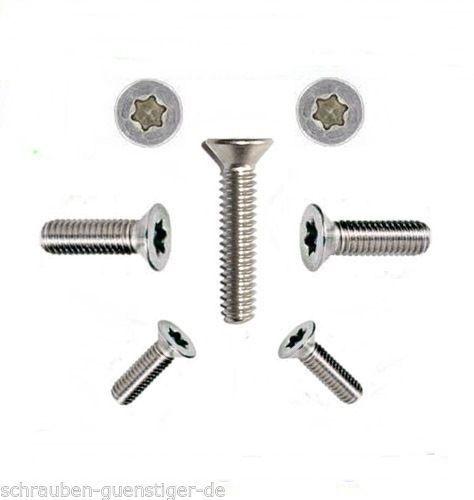 Assortimento viti DIN 965 viti Torx m6 in acciaio inox a2 360 pezzi