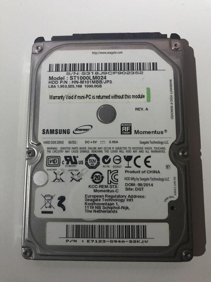 Samsung, 1000 GB, God