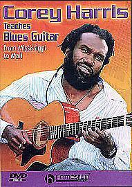 Corey Harris Teaches Blues Guitar (DVD, 2006)