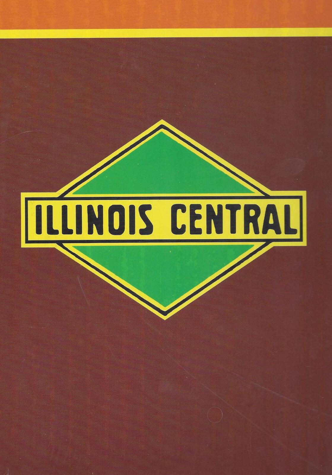 Illinois Central in Coloreeee (con Vapore & Diesel Locomotive) Locomotive) Locomotive) Nuovo bc0703