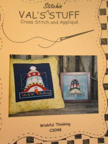 Val/'s Stitchin/' Stuff Cross Stitch//Primitive Stitch /& Applique CHART Your Ch