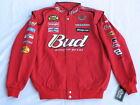 Dale Earnhardt Jr. Budweiser NASCAR Jacket by Chase! Sizes: M, L or XL