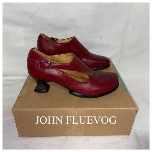 John Fluevog Wearever Gracias Cherry Red Heels