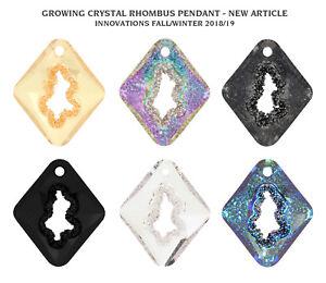Details about Genuine SWAROVSKI 6926 Growing Crystal Rhombus Pendants *  Designer Edition