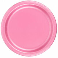 Creative Converting Dinner Plates 24 Count 10 - 1/4 Inch Diameter Pink