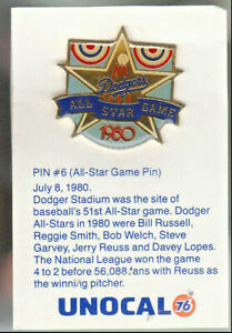 1980-039-s-L-A-DODGERS-UNOCAL-PIN-UNUSED-1980-ALL-STAR-GAME-PIN