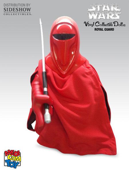 MEDICOM (Sideshow) Star Wars Guardia Real del Emperador Vinilo Figura  NUEVO