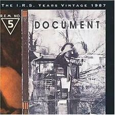 R.E.M. Document (1987; 11 tracks) [CD]