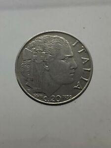 3-Vittorio-Emanuele-III-20-Cents-Empire-1939-Xvii-Magnetic