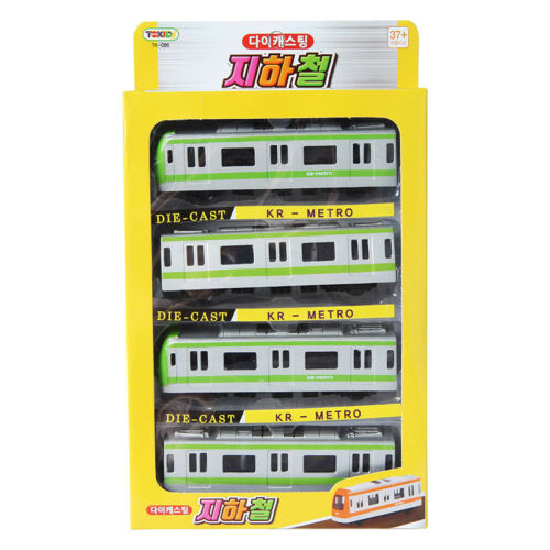 Tokids Diecast Green KR Metro Train Toy Children/'s toy Miniature Car