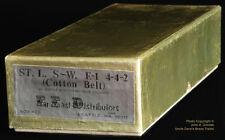 ORIGINAL BOX FOR BRASS FED-423 SSW COTTON BELT 4-4-2 E-1 STEAM LOCO - BOX ONLY