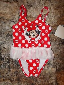 362518e85 Girls Size 3-6 Months OR 12 Months Disney's Minnie Mouse 1-Piece ...