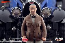 1/18 Ettore Bugatti VERY RARE!!! for 1:18 Autoart bauer Royale Atlantic 57