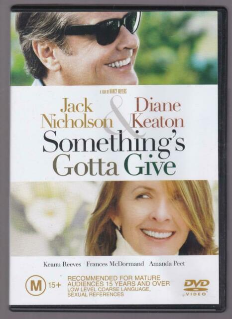 DVD SALE** - Something's Gotta Give