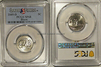 2005 D Satin Finish Bison Jefferson Nickel Choice Uncirculated US Mint