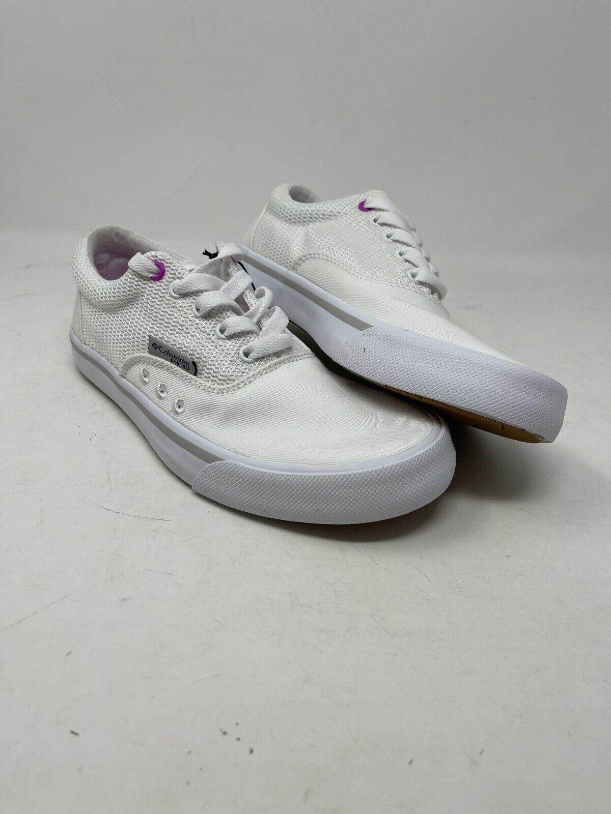 NEW Women's White Columbia Slack Water PFG Lace #BL0152-100 Shoes Size 7 #U2