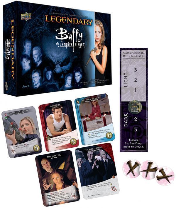 Legendary  Buffy The Vampire Slayer Board Game - Brand New