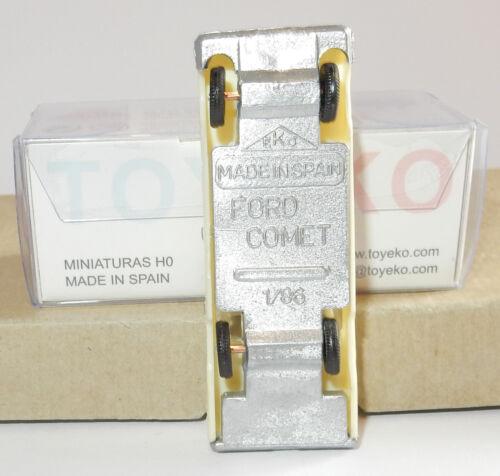 MICRO TOY EKO TOYEKO HO 1//86 1//87 MADE IN SPAIN FORD COMET REF 2073 IN BOX